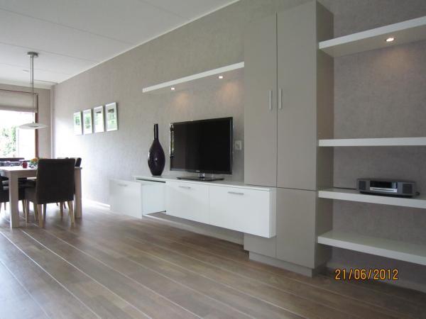 Tv meubelen op maat regio amersfoort utrecht - Tv staan kleine ruimte ...